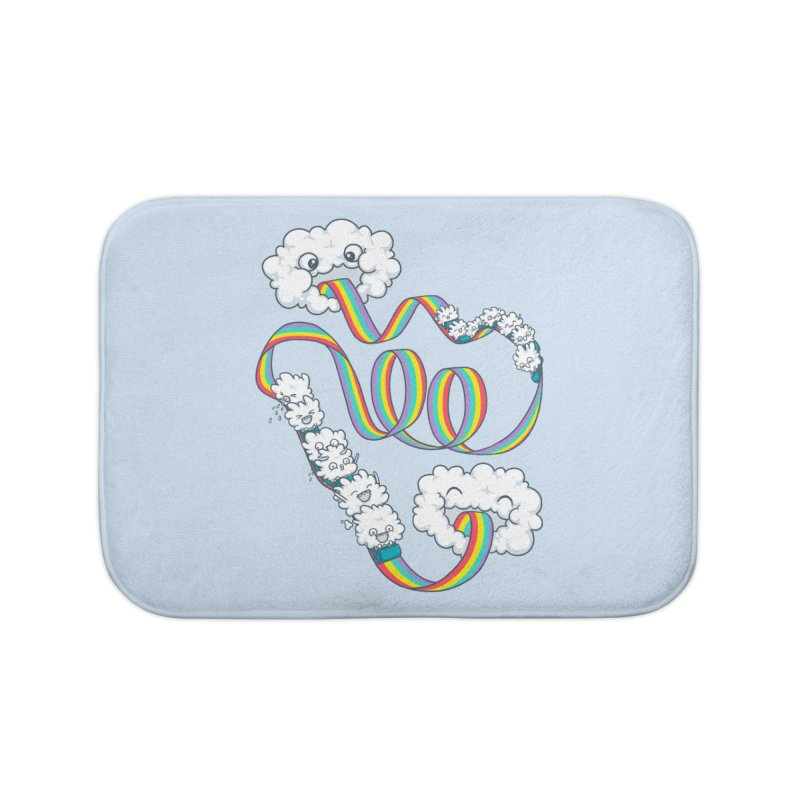Rainbow Coaster Home Bath Mat by spookylili
