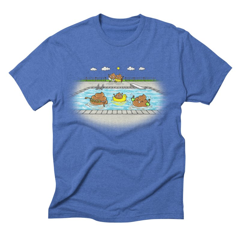 Dropping The Kids Off Men's T-Shirt by spookylili