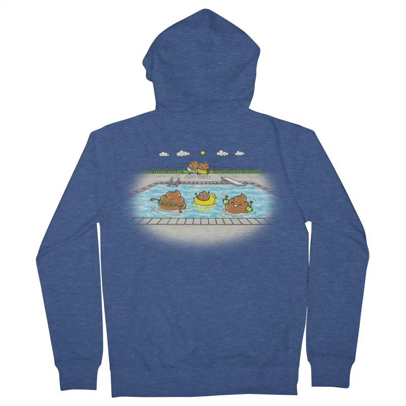 Dropping The Kids Off Men's Zip-Up Hoody by spookylili