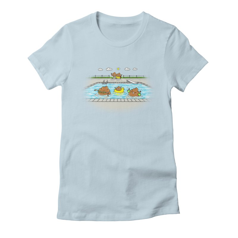 Dropping The Kids Off Women's T-Shirt by spookylili