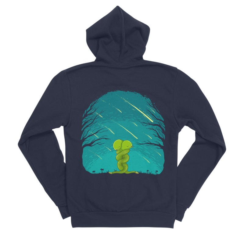Till the End Women's Sponge Fleece Zip-Up Hoody by spookylili