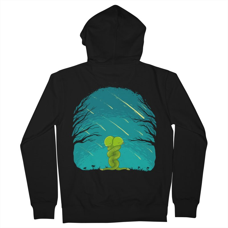 Till the End Men's Zip-Up Hoody by spookylili