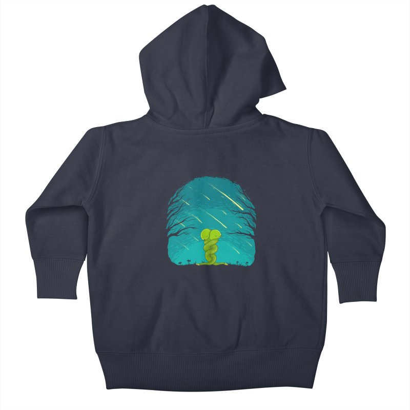 Till the End Kids Baby Zip-Up Hoody by spookylili
