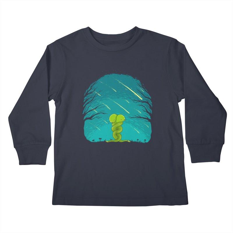 Till the End Kids Longsleeve T-Shirt by spookylili