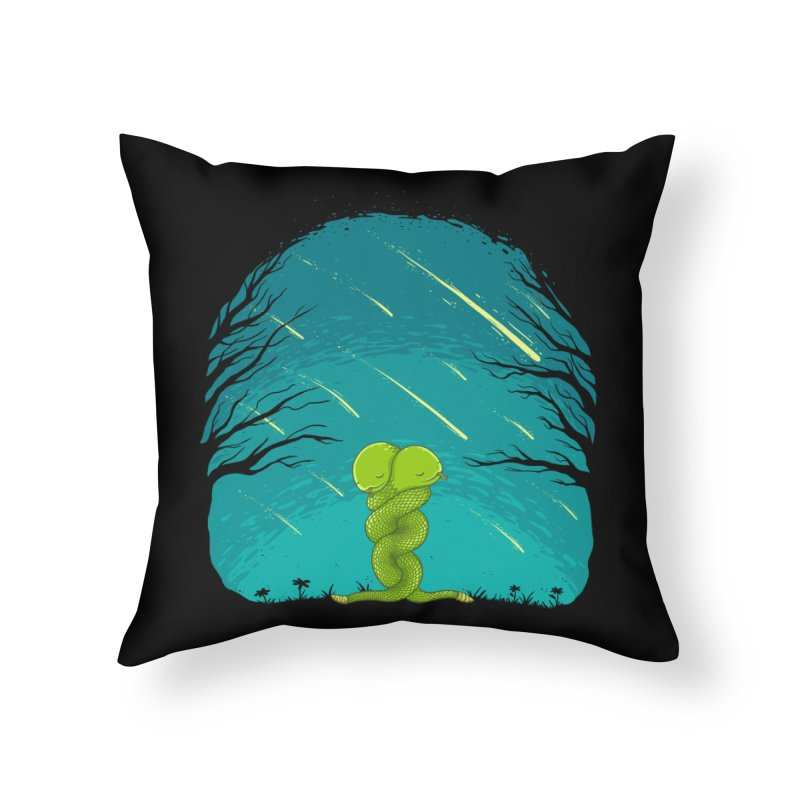 Till the End Home Throw Pillow by spookylili