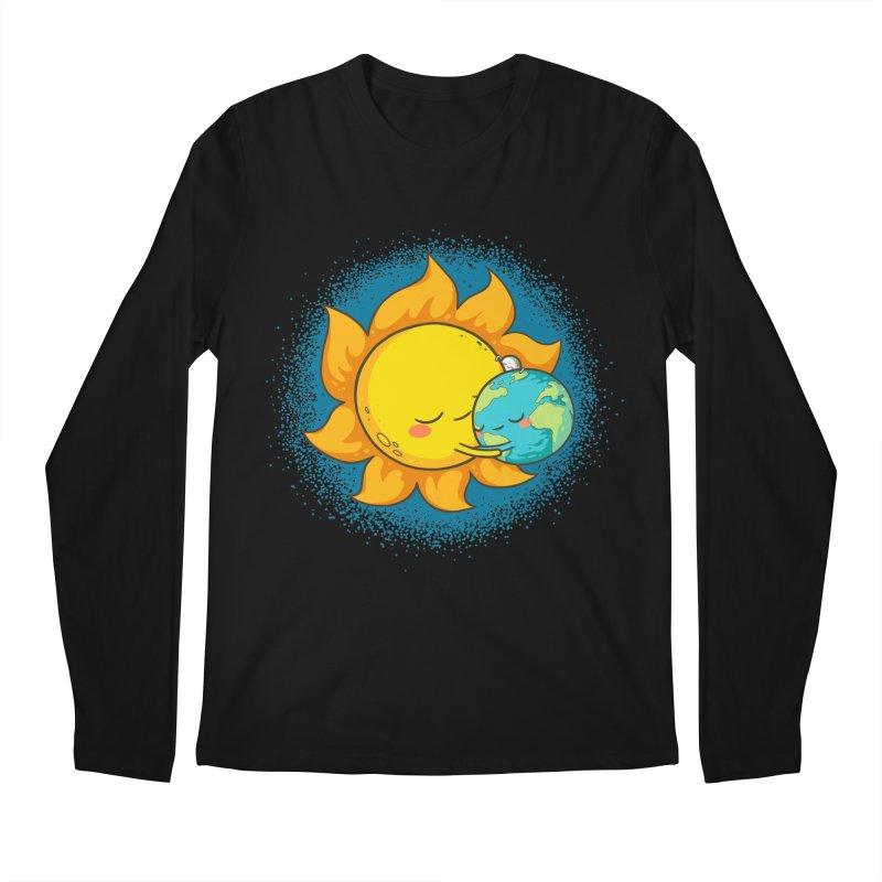 You Warm My Heart Men's Regular Longsleeve T-Shirt by spookylili