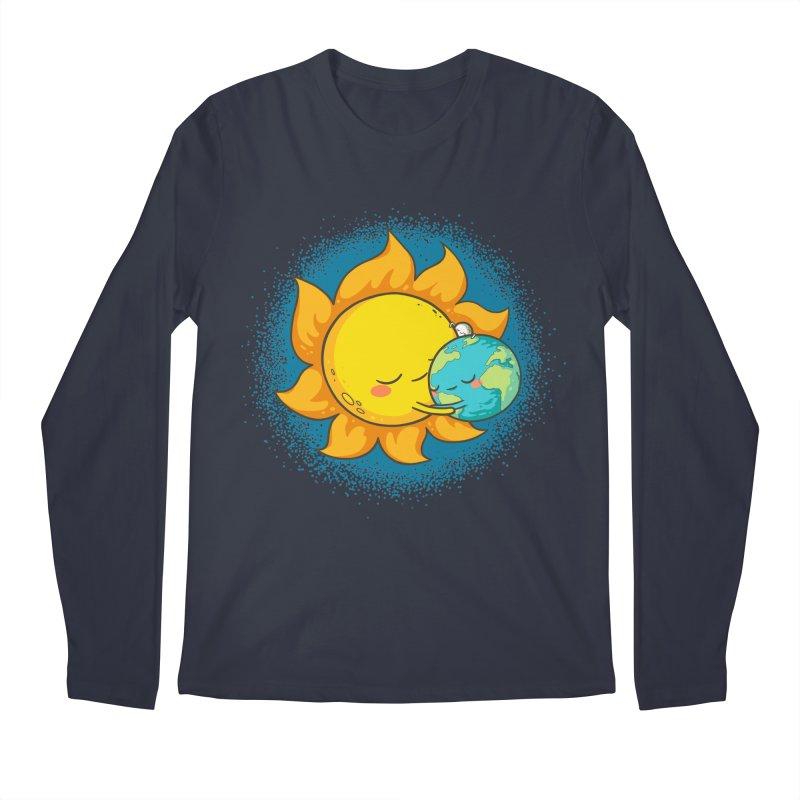 You Warm My Heart Men's Longsleeve T-Shirt by spookylili