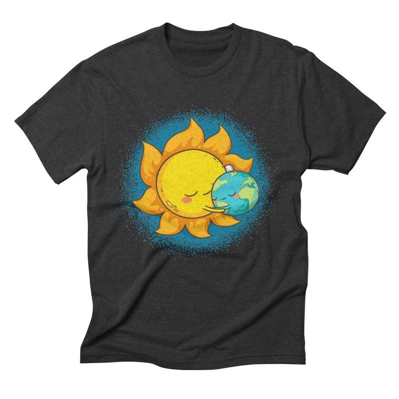 You Warm My Heart Men's Triblend T-shirt by spookylili