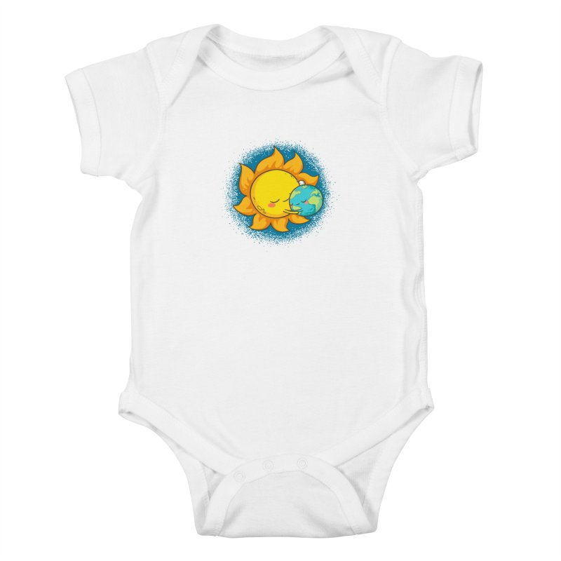 You Warm My Heart Kids Baby Bodysuit by spookylili