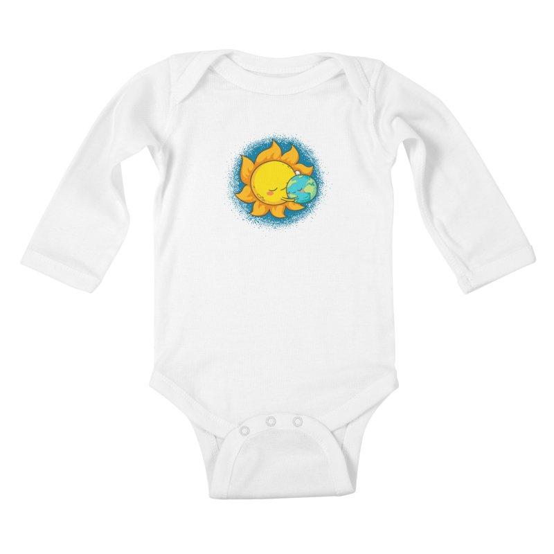 You Warm My Heart Kids Baby Longsleeve Bodysuit by spookylili
