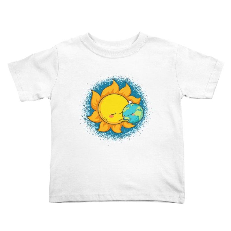 You Warm My Heart Kids Toddler T-Shirt by spookylili