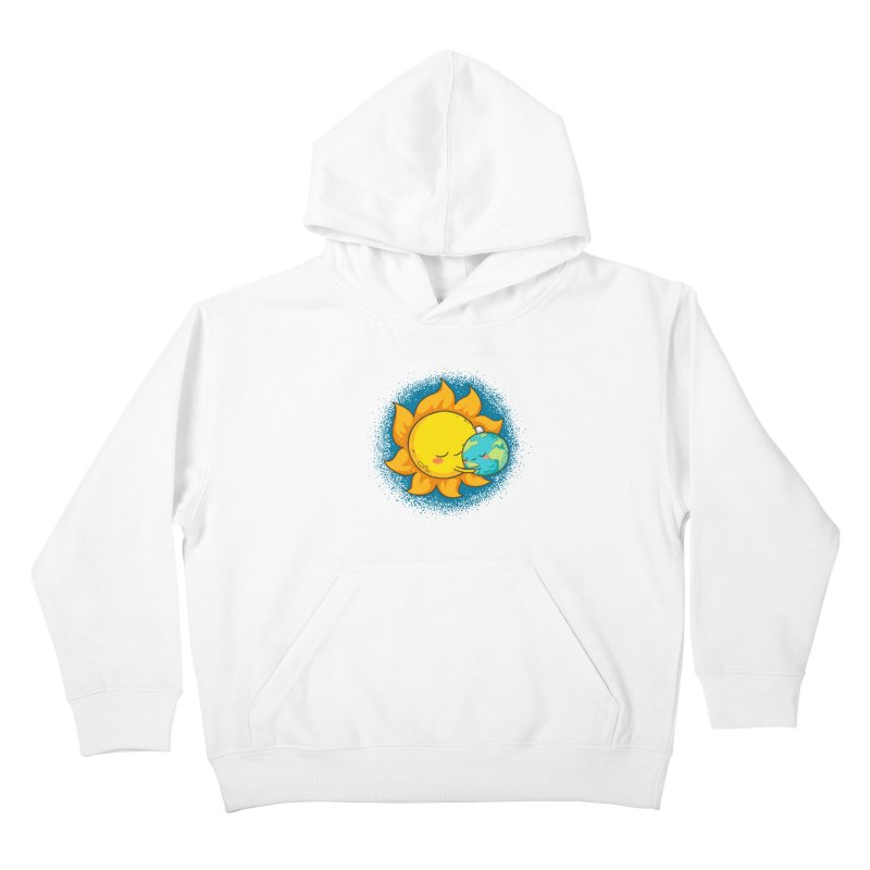 You Warm My Heart Kids Pullover Hoody by spookylili