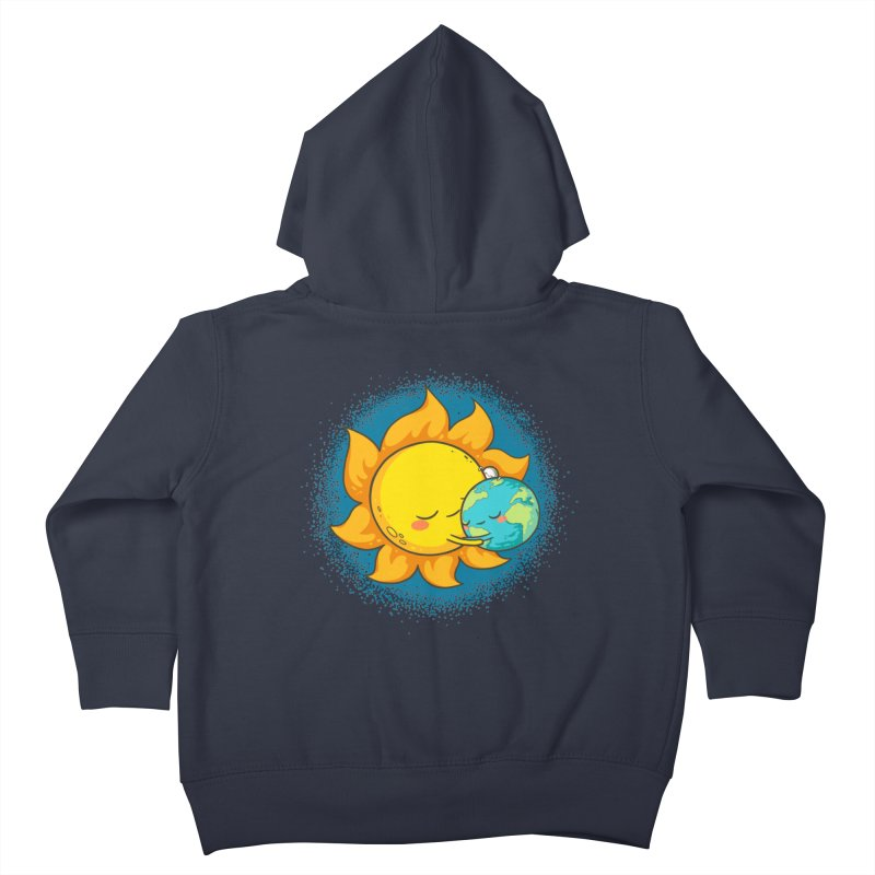 You Warm My Heart Kids Toddler Zip-Up Hoody by spookylili