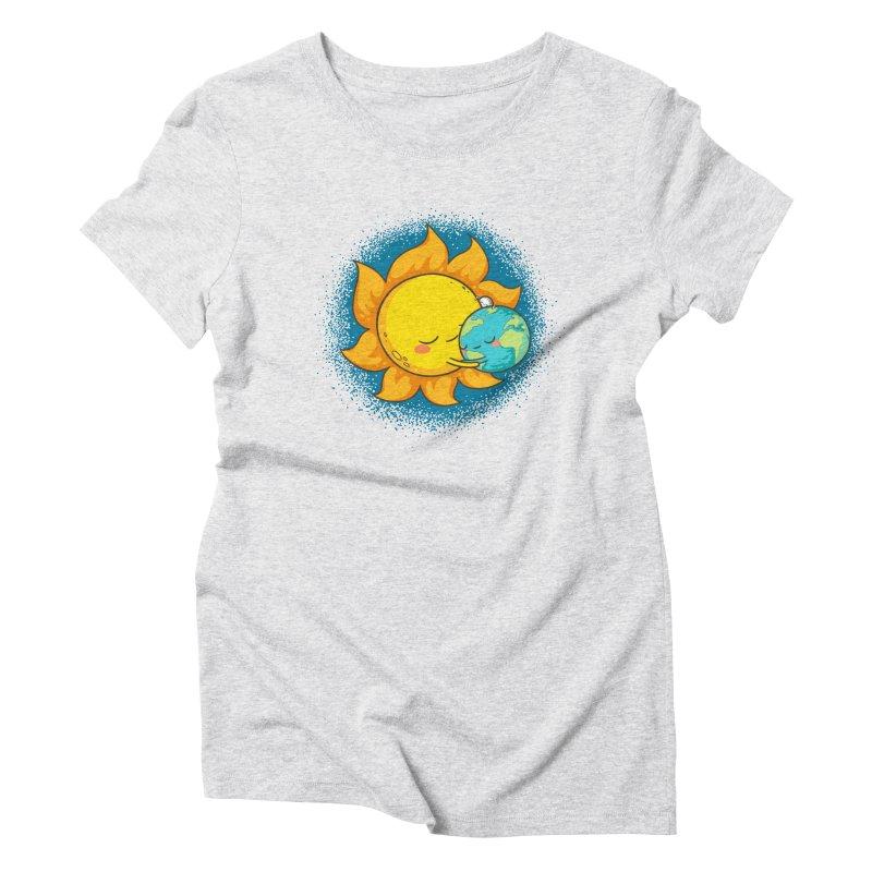 You Warm My Heart Women's Triblend T-shirt by spookylili