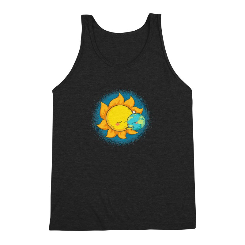 You Warm My Heart Men's Triblend Tank by spookylili