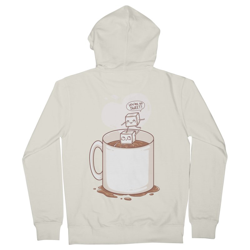 Sugar Men's French Terry Zip-Up Hoody by spookylili