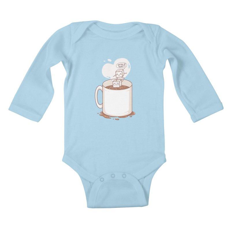 Sugar Kids Baby Longsleeve Bodysuit by spookylili