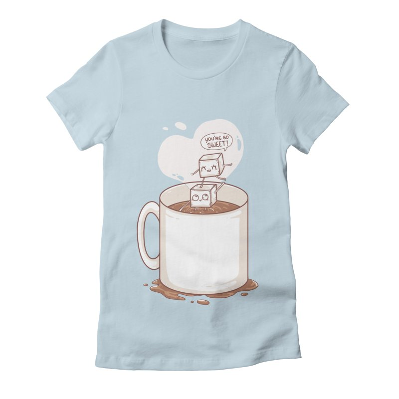 Sugar Women's Fitted T-Shirt by spookylili