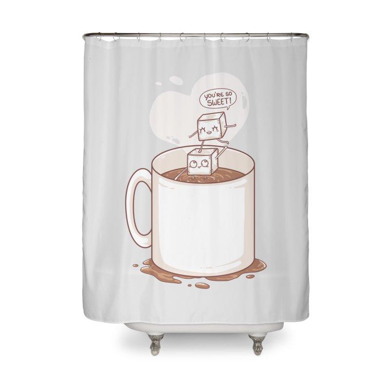 Sugar Home Shower Curtain by spookylili