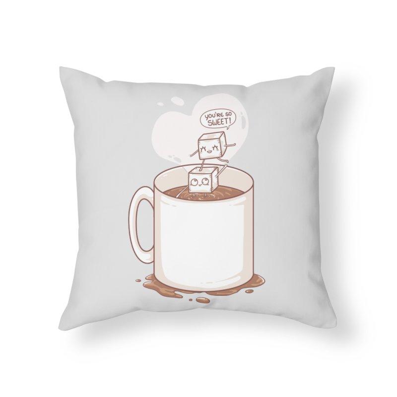 Sugar Home Throw Pillow by spookylili