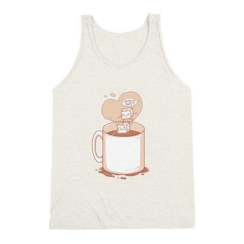 Sugar Men's Triblend Tank by spookylili
