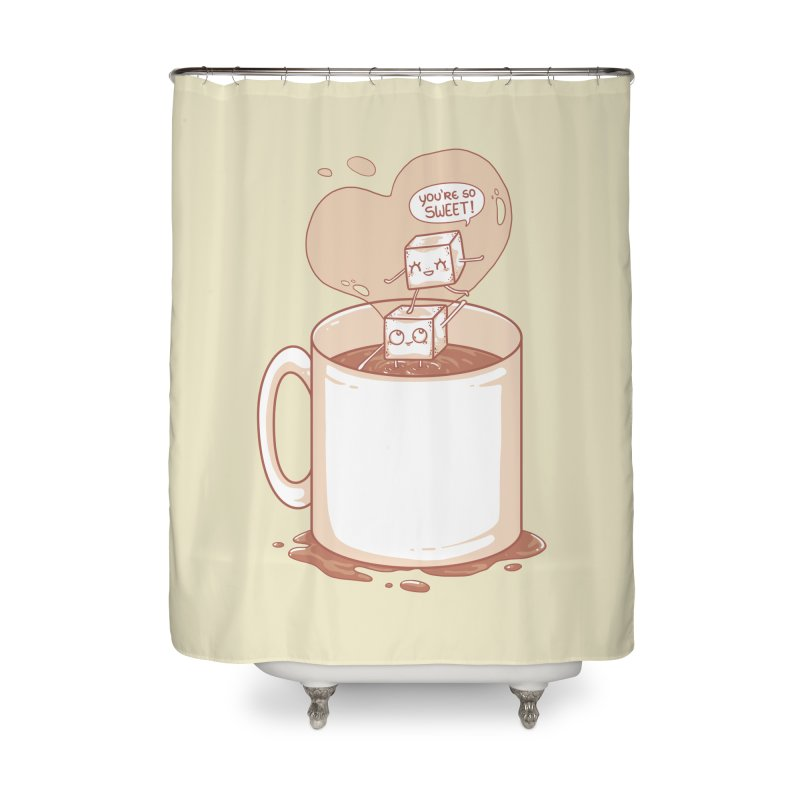 Sugar Home Shower Curtain by spookylili