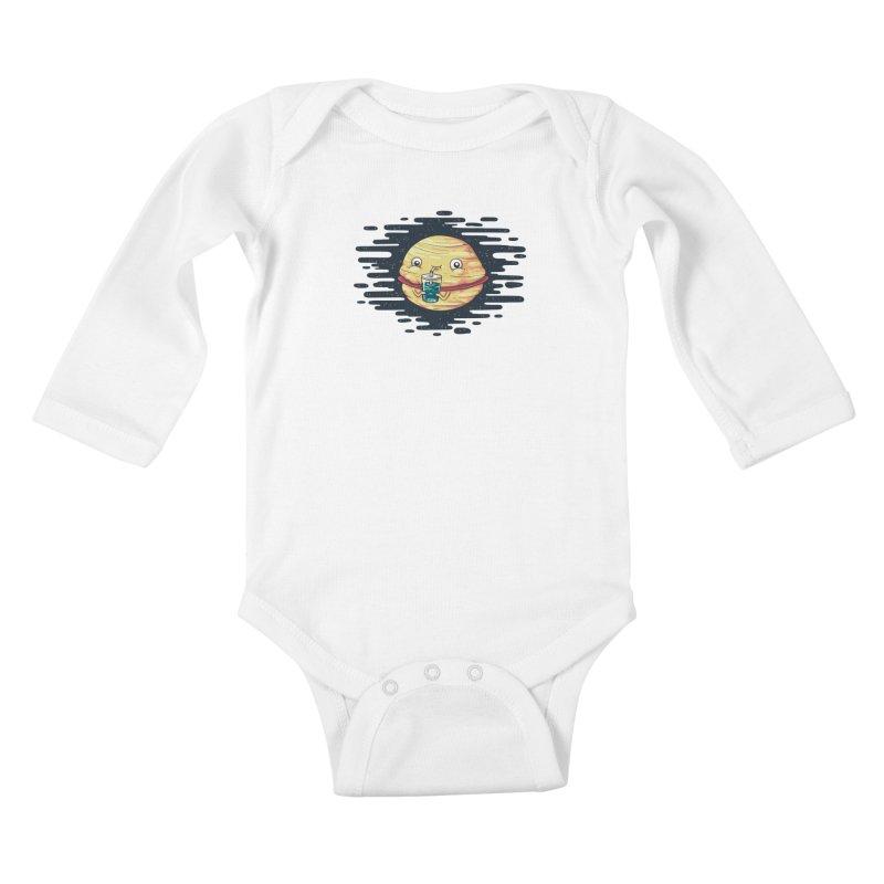 Faturn Kids Baby Longsleeve Bodysuit by spookylili