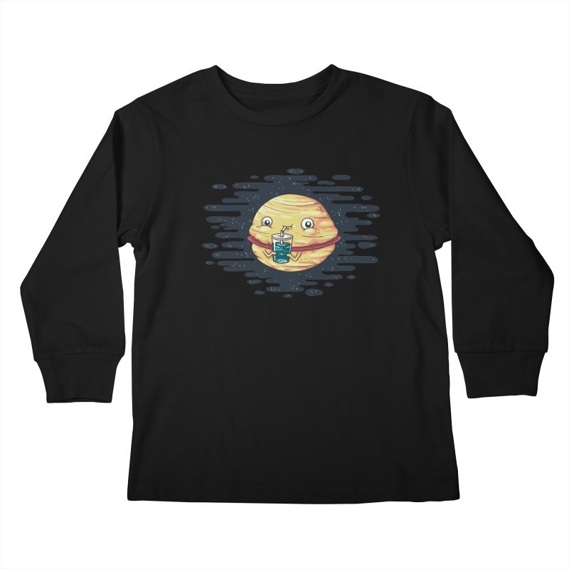 Faturn Kids Longsleeve T-Shirt by spookylili