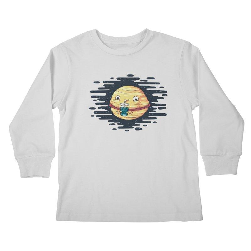 Faturn Kids Longsleeve T-Shirt by spookylili