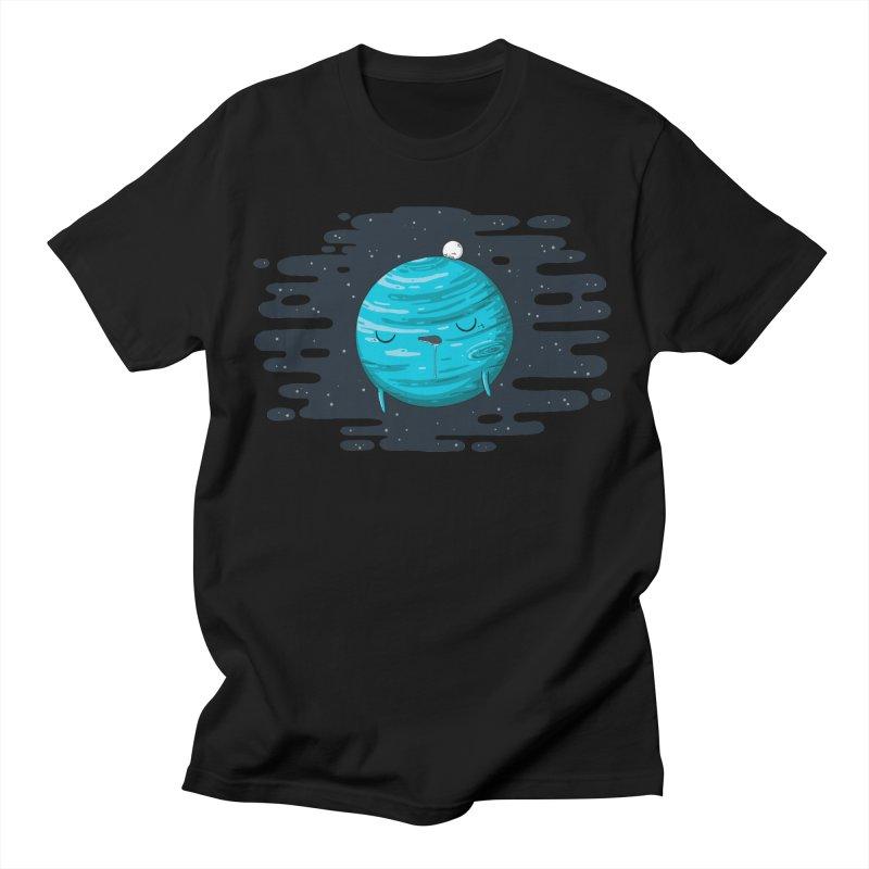 Naptune Men's T-Shirt by spookylili