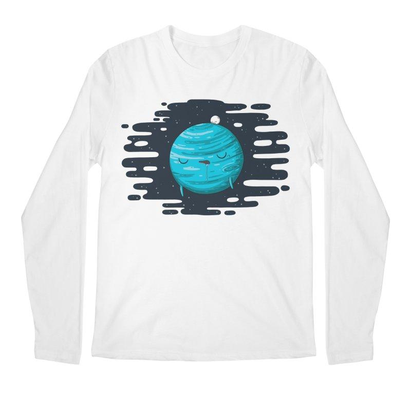 Naptune Men's Longsleeve T-Shirt by spookylili