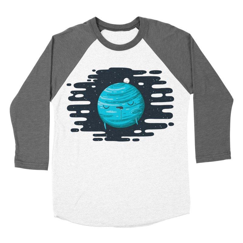 Naptune Women's Baseball Triblend T-Shirt by spookylili