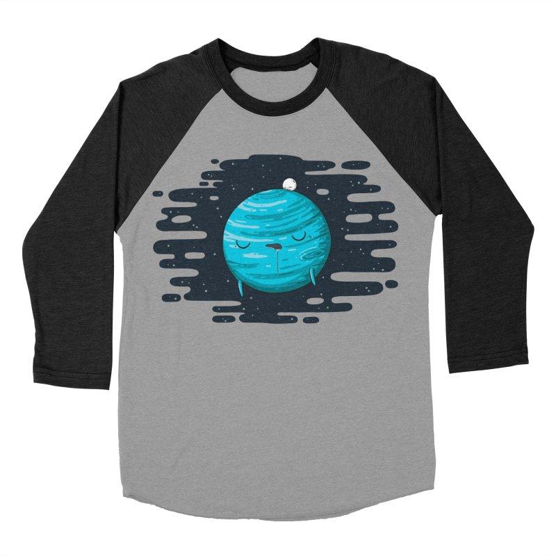 Naptune Women's Baseball Triblend Longsleeve T-Shirt by spookylili