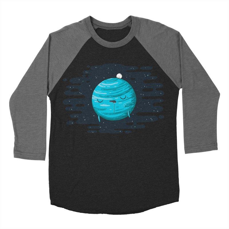 Naptune Men's Baseball Triblend T-Shirt by spookylili