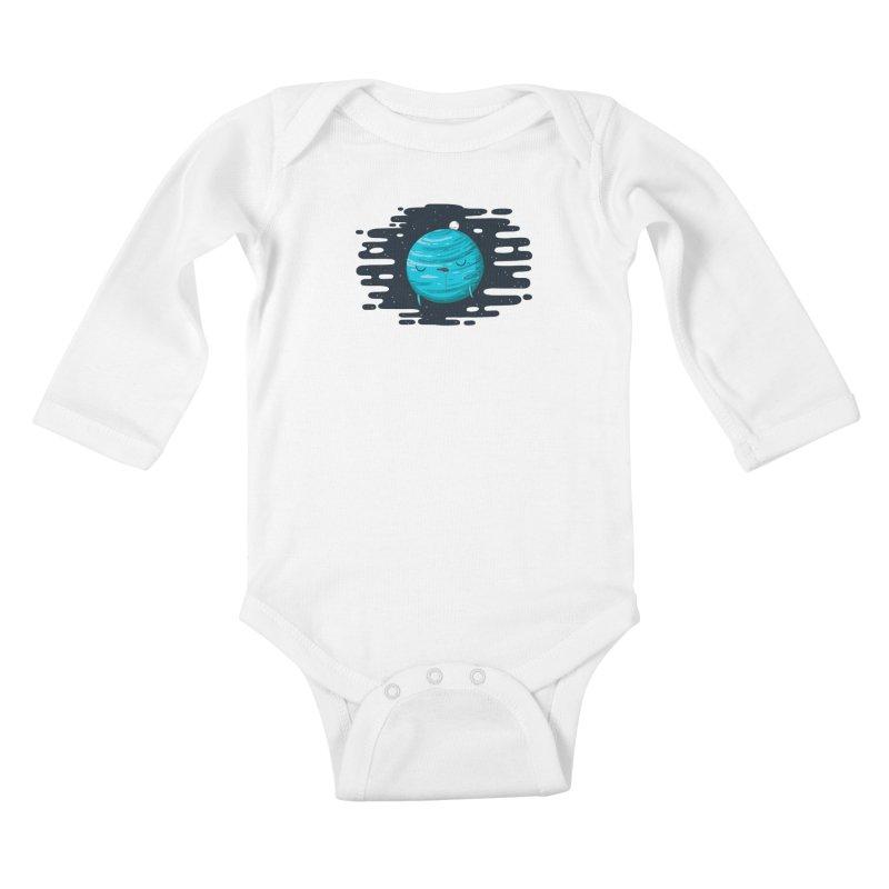 Naptune Kids Baby Longsleeve Bodysuit by spookylili