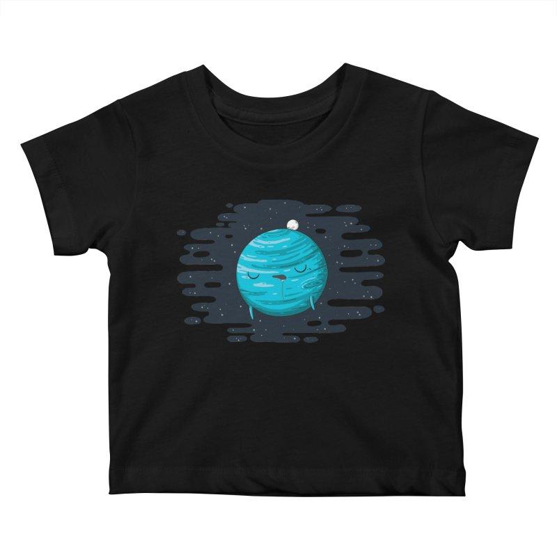 Naptune Kids Baby T-Shirt by spookylili