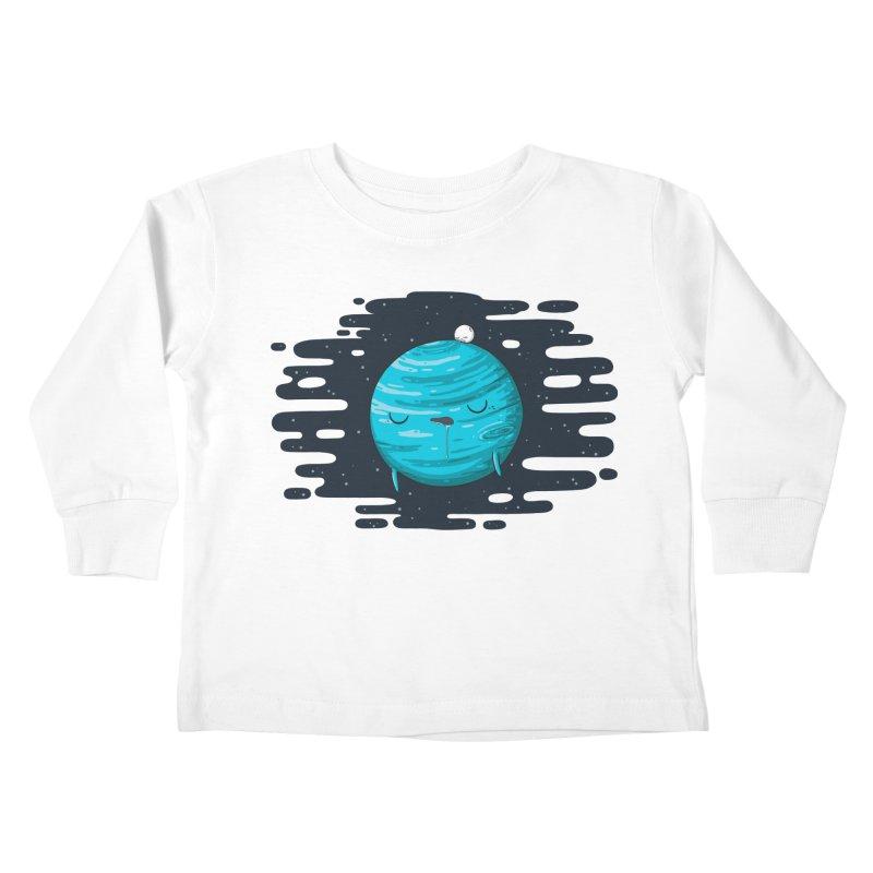 Naptune Kids Toddler Longsleeve T-Shirt by spookylili