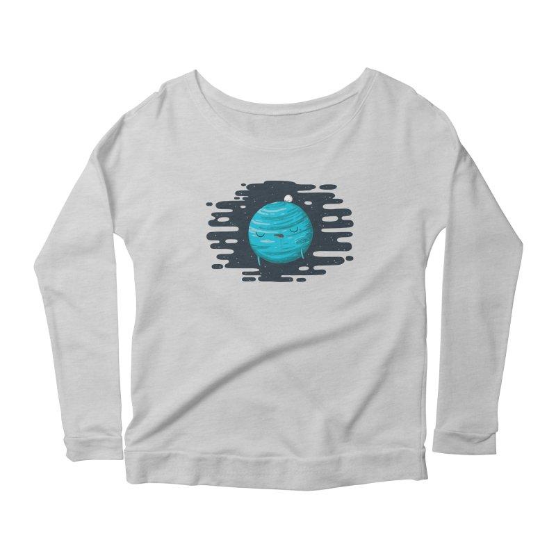 Naptune Women's Scoop Neck Longsleeve T-Shirt by spookylili