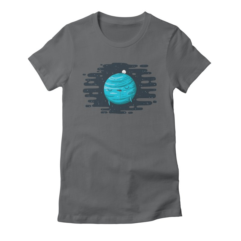 Naptune Women's Fitted T-Shirt by spookylili