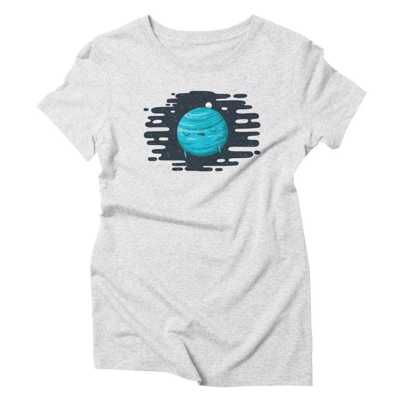 Naptune Women's Triblend T-shirt by spookylili