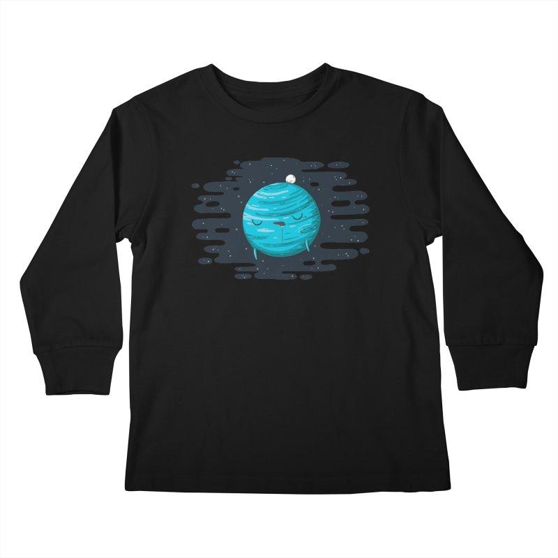 Naptune Kids Longsleeve T-Shirt by spookylili