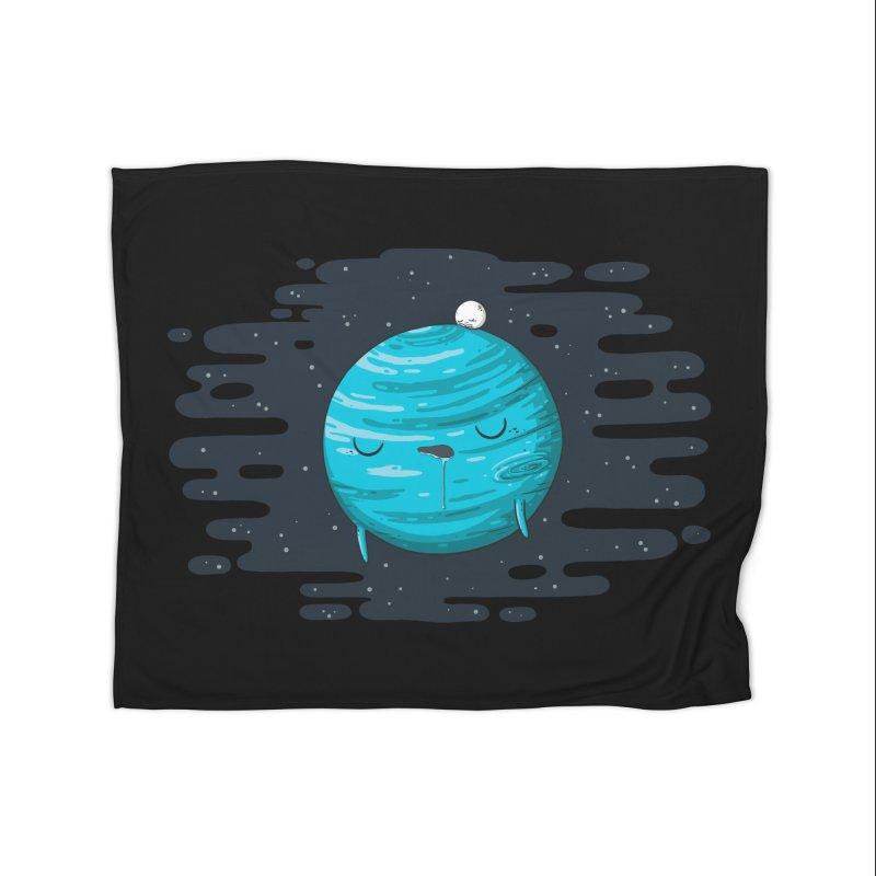 Naptune Home Fleece Blanket Blanket by spookylili