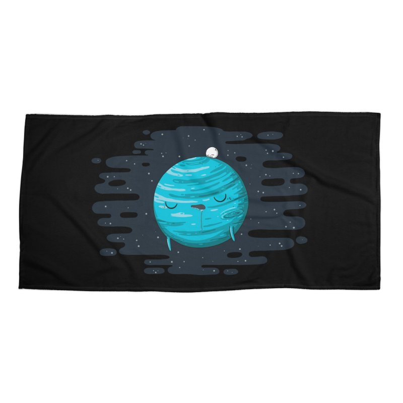 Naptune Accessories Beach Towel by spookylili