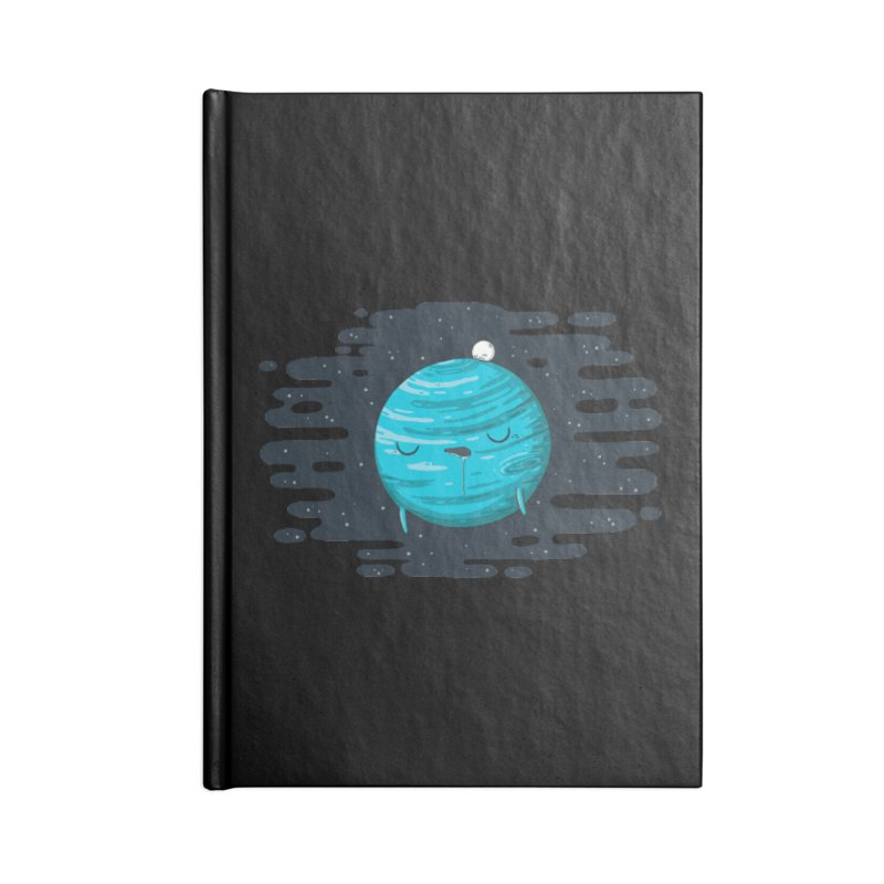 Naptune Accessories Notebook by spookylili