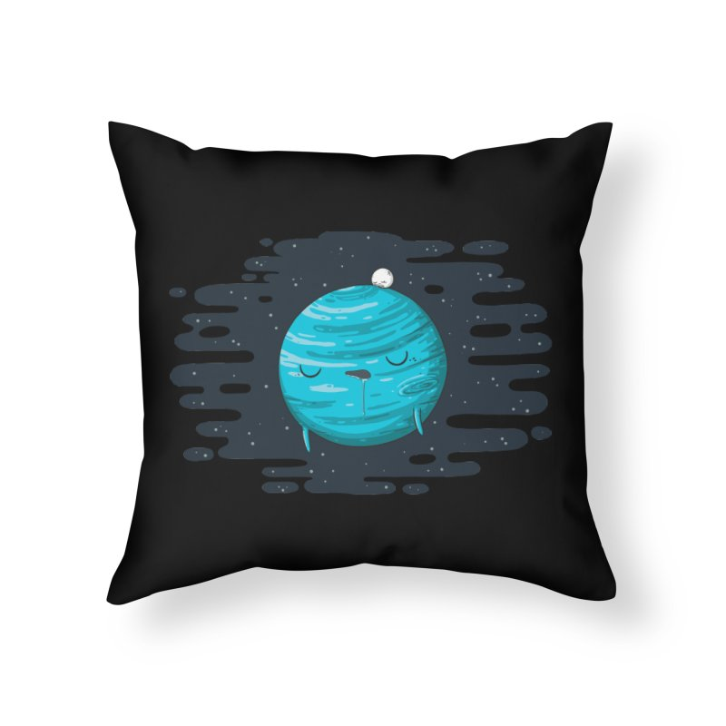 Naptune Home Throw Pillow by spookylili