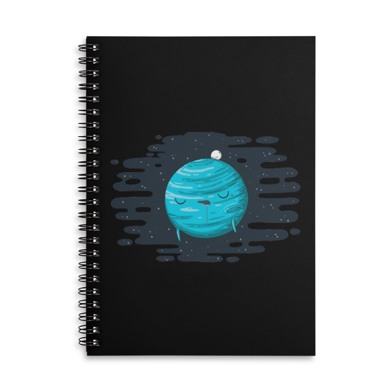 Naptune Accessories Lined Spiral Notebook by spookylili
