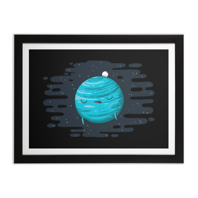 Naptune Home Framed Fine Art Print by spookylili