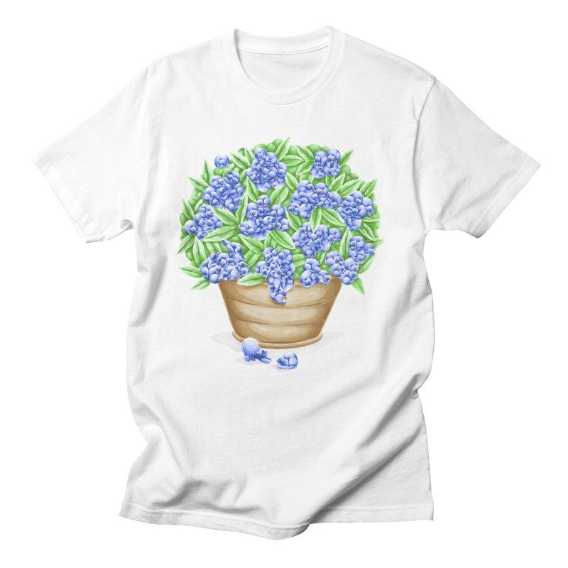 Bluebearies Men's T-Shirt by spookylili