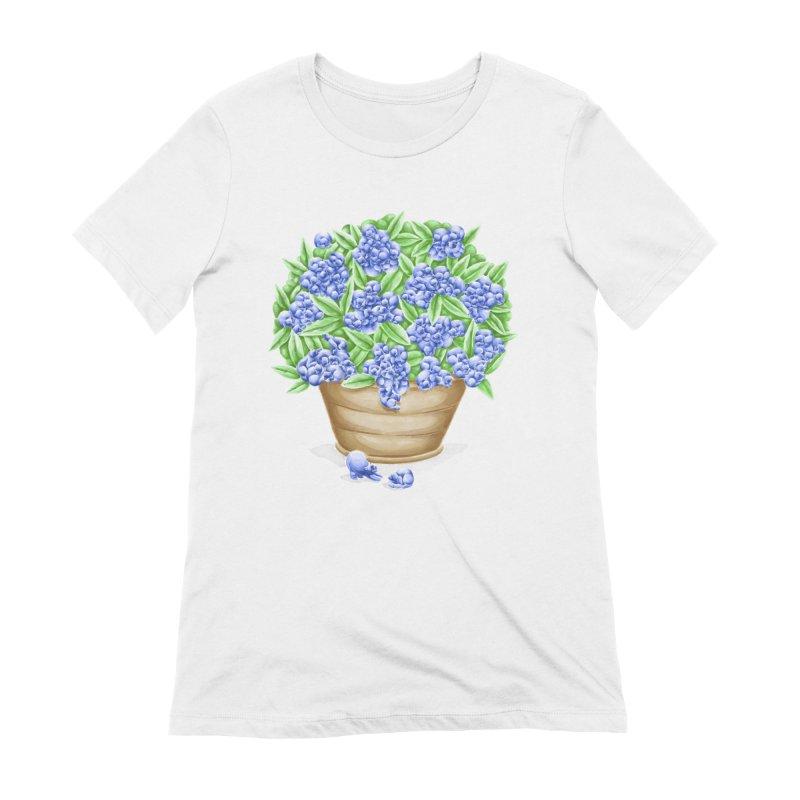Bluebearies Women's T-Shirt by spookylili