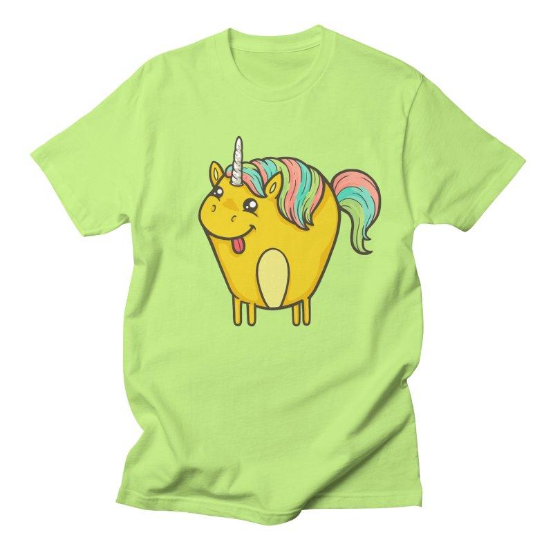 Unicorn Men's T-Shirt by spookylili